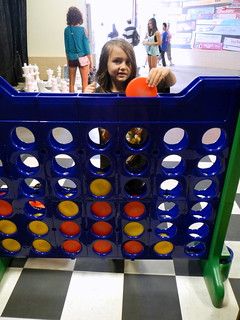 they had all the sizes of connect four