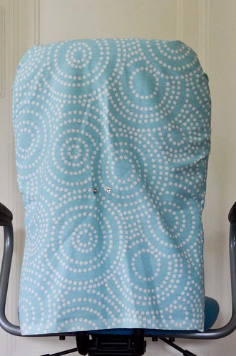 Finished Office Chair Slipcover