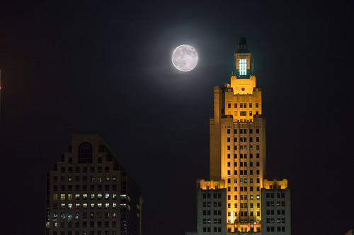 Super Moon Providence by GoProvidenceRI