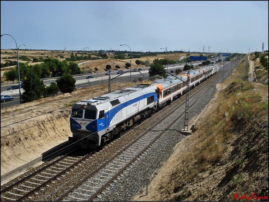 Circulaciones Especiales, Locomotoras de Renfe Integria 9172902101_1bbe831809_b