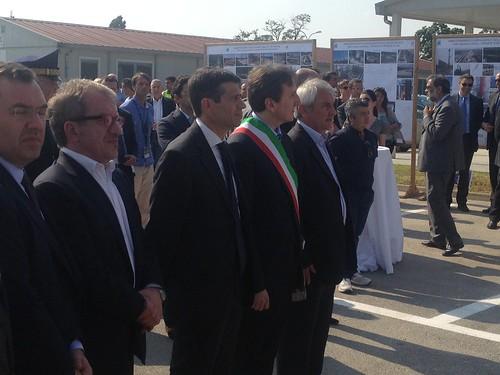Ministro Lupi inaugura lavori autostrada a4 torino milano 1 luglio 2013 (2)