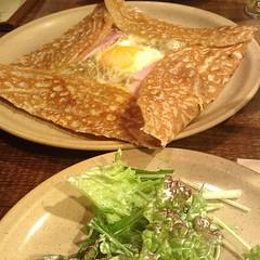 Food in Nagoya - Soba galette そば粉のガレット