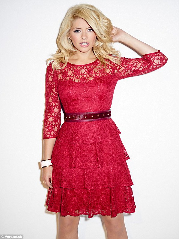 HOLLY WILLOUGHBY'S A/W13 COLLECTION FOR VERY.CO.UK