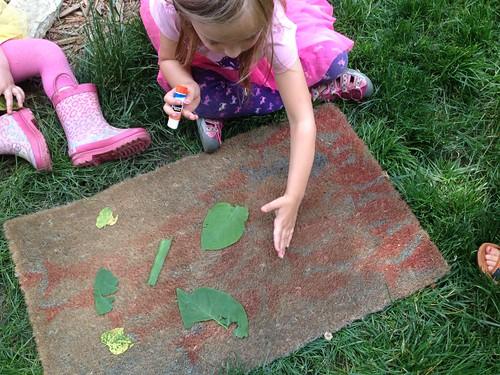 Leaf Silhouette Rug {Freshly Planted}