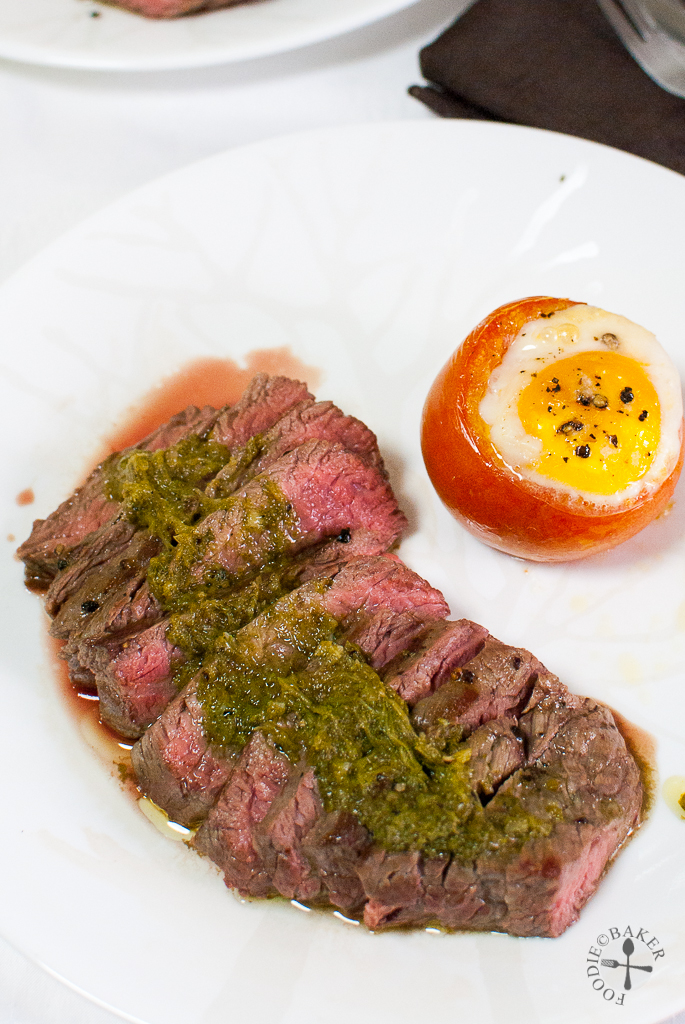Steak with Chimichurri