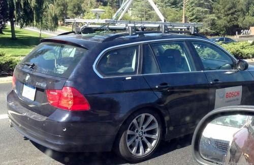 Беспилотное авто Bosch колесит по Калифорнии