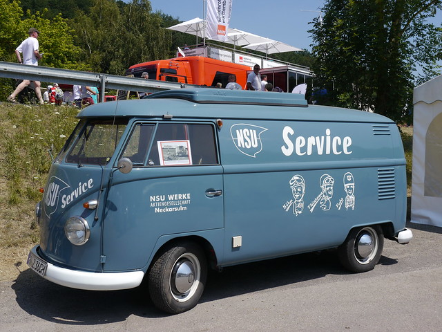 Solitude Revival 2013 114 VW Bus NSU Service