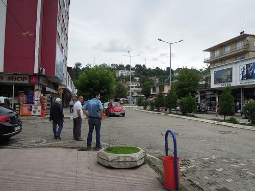 Arhaviの街中