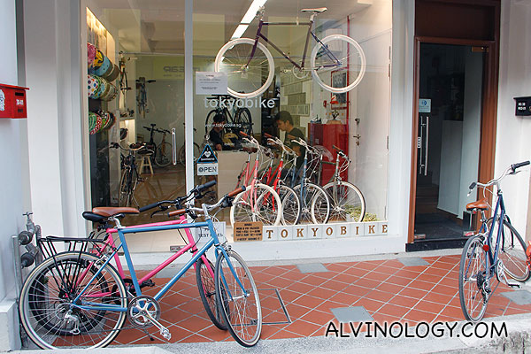 TokyoBike - bicycle shop