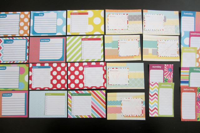 weekly planner sheets 3