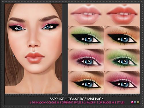 Sapphire Cosmetics Mini Pack