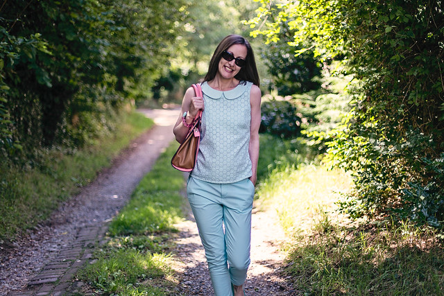 Outfit post: summer pastels