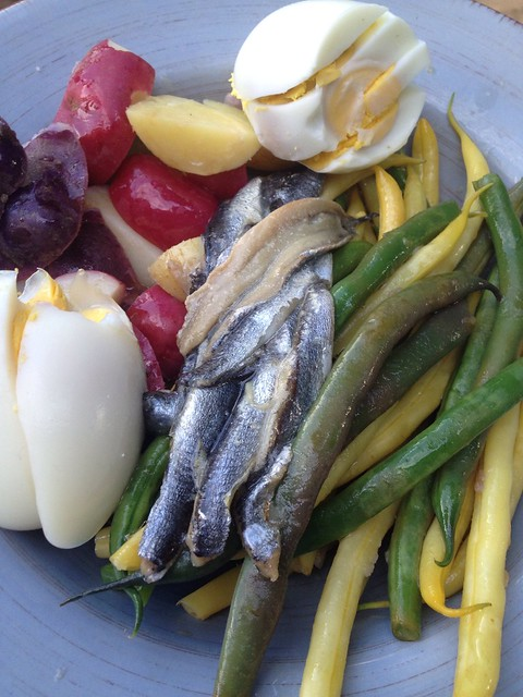 Niçoise without the salade