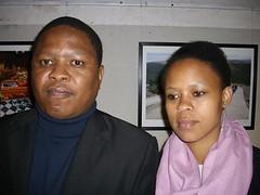 Lucas Ledwaba and Sebabatso Mosamo