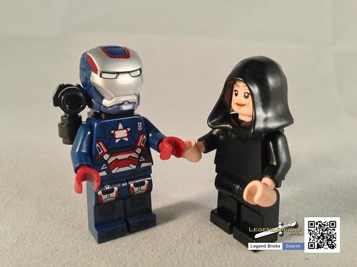 Iron Patriot Lego Iron Patriot on The Job