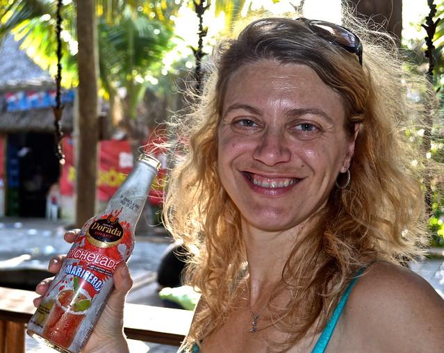 Hot Day - Cool Michelada - Monterico Guatemala
