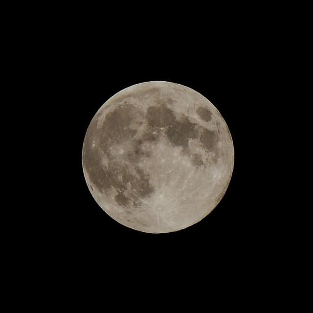 満月(20013年9月19日)