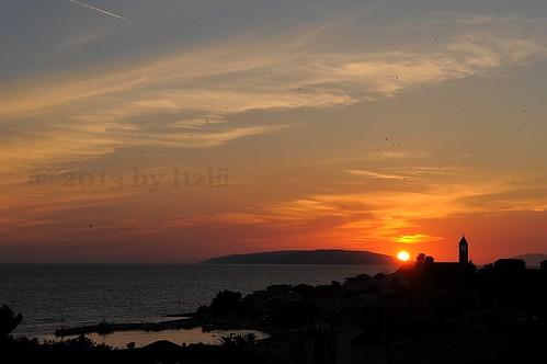 travel sunset sun landscape holidays croatia sunsetsunrise hrvatska gradac 2013 nikond700 itzlä