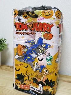 トムとジェリーのハロウィンなトイレットペーパー
