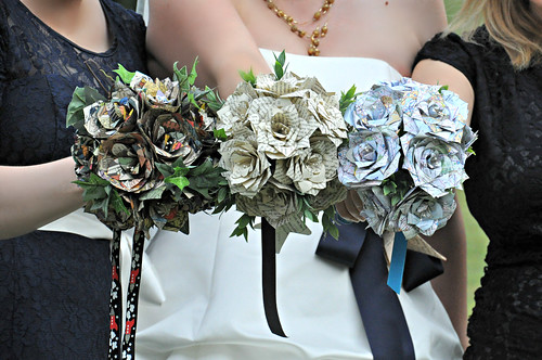Paper Flower Bouquets by Vanessa Hayes