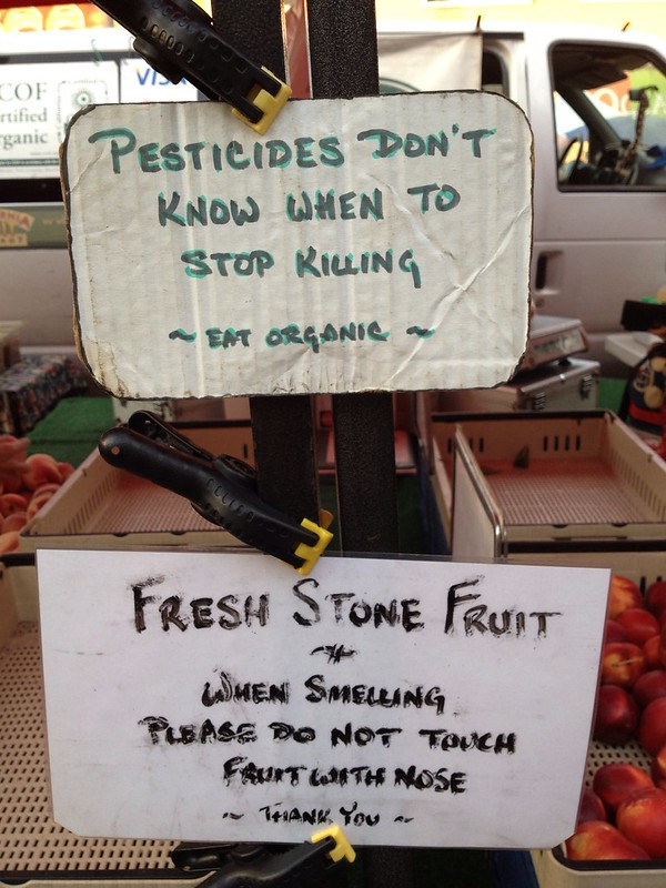 farmers' market advice