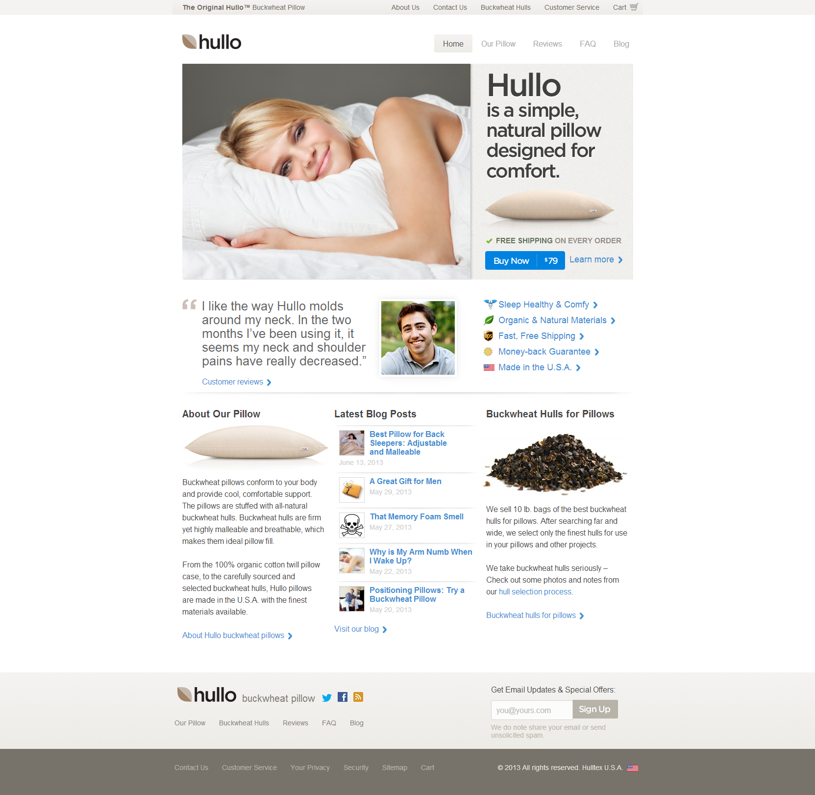 Hullo Beautiful Health Website