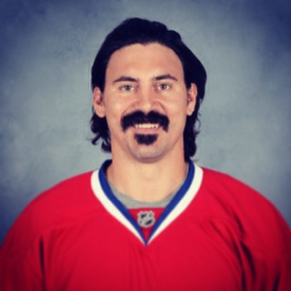 George Parros ... He's my favourite hockey player so far ...