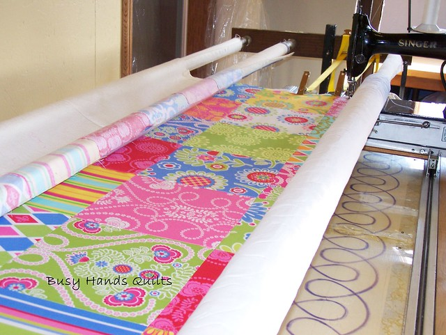 Custom Twin Sized Ooh La La Quilt