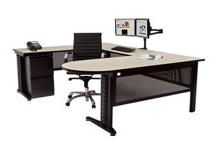 Regency Fusion Peninsula Desk