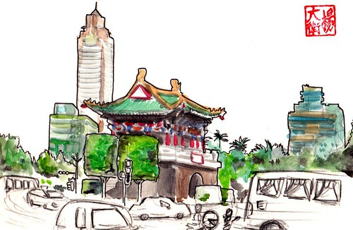 "East Gate, Taipei ""台北东门"" by david.jack"