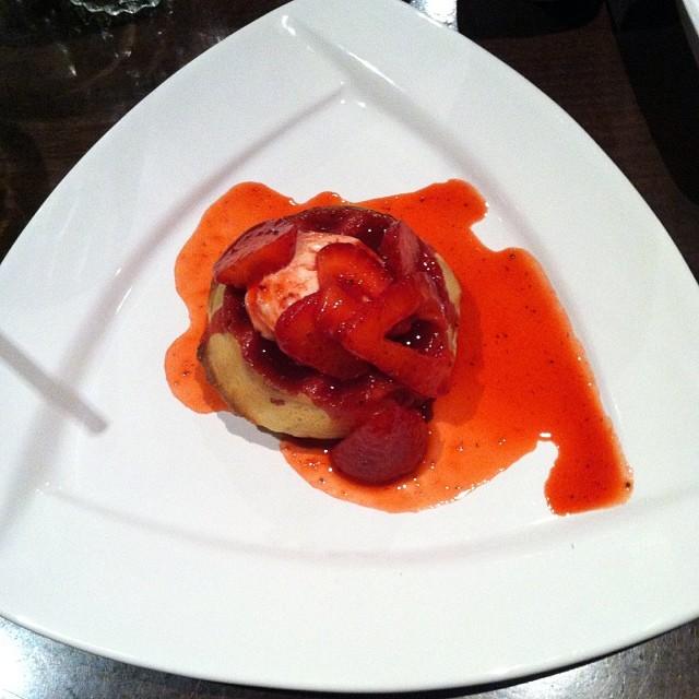 Breakfast for dessert?!  @mimis_cafe you rock! #mimisnewmenu