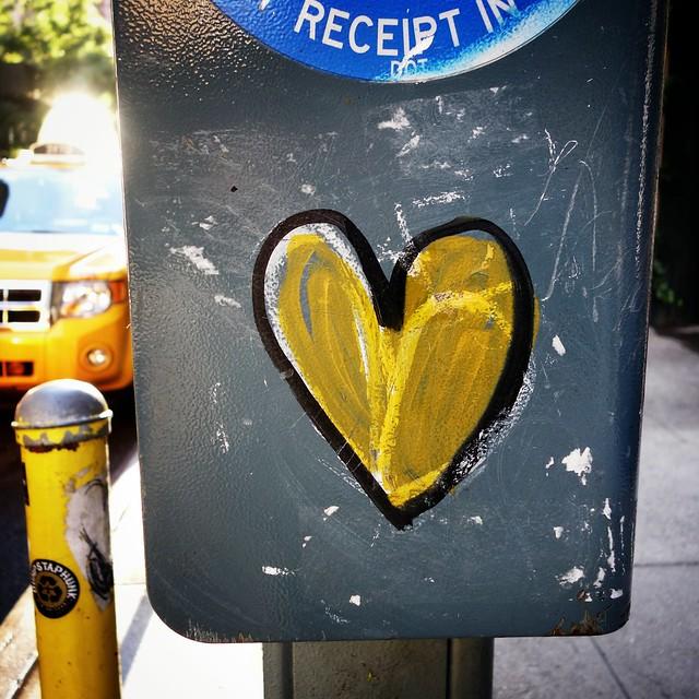 Heart shaped box #walkingtoworktoday