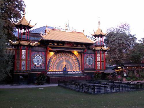 Tivoli Gardens - Teatro de Pantomima Chinês