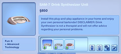 SAM-7 Drink Synthesizer Unit