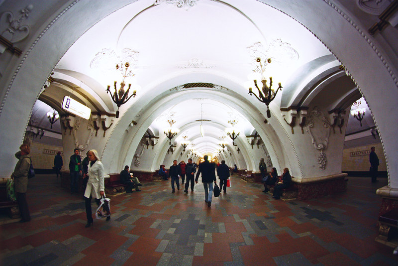 moscow, russia, metro,