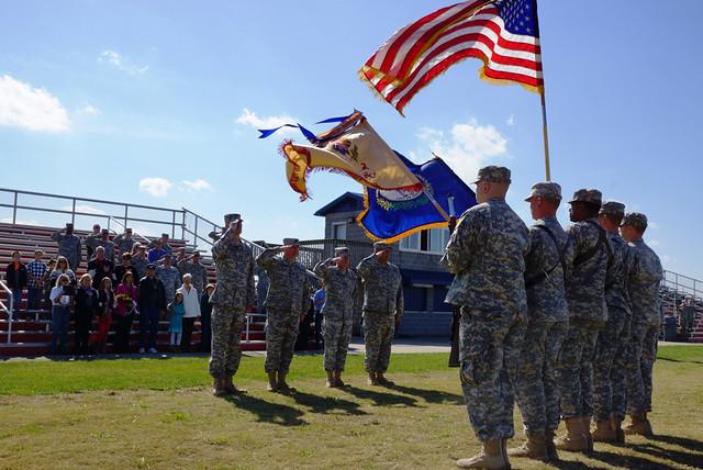 103rd Flag Salute