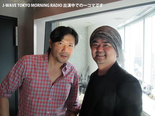 J-WAVE TOKYO MORNING RADIOの模様です
