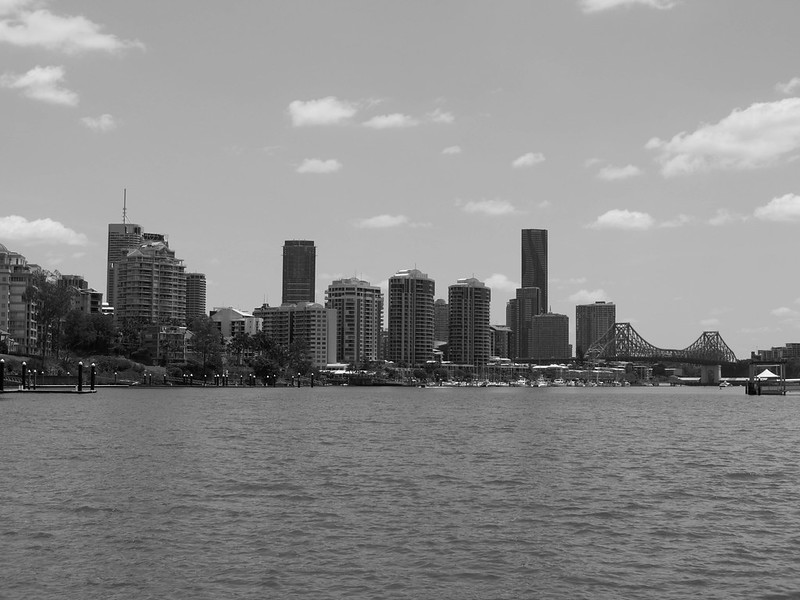 Brisbane CBD and Victoria Bridge