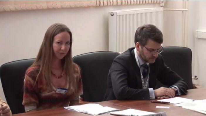 Ірина Толмачова та Марат Баширов.