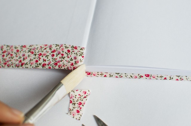 DIY Floral Notebooks