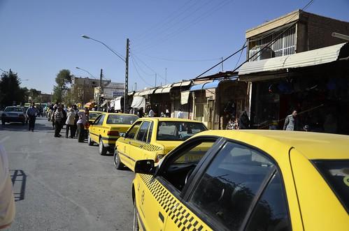 Taxis en Kerman