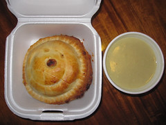 Chicken pot pie from Moffett's Family Restaurant…