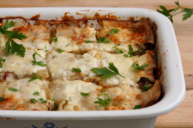 swiss chard lasagna 4