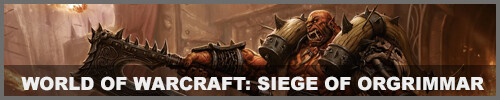 IGA Template World of Warcraft Siege of Orgrimmar