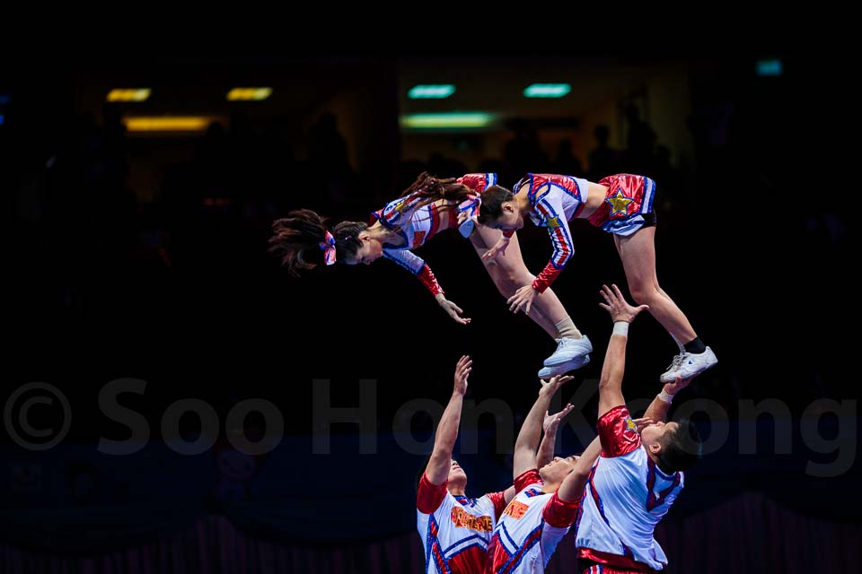 7th Cheerleading World Championships @ Bangkok, Thailand