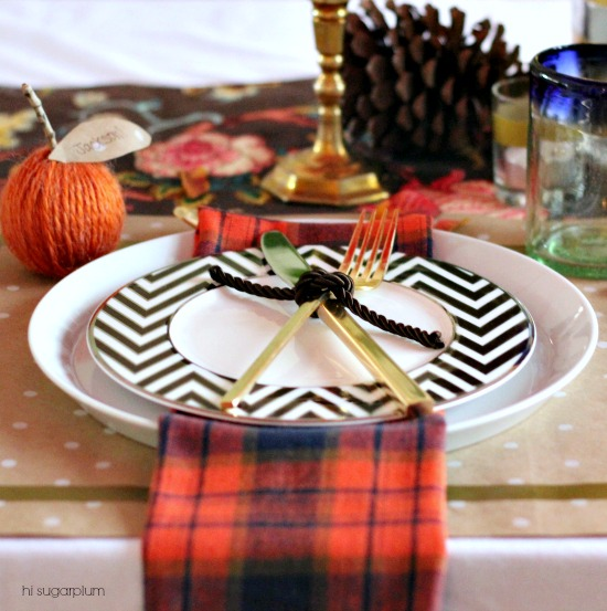 Hi Sugarplum | Warm & Cozy Fall Table