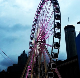 rainy twilight wheel