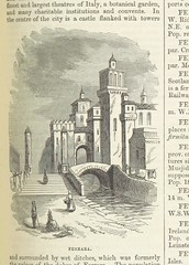 """British Library digitised image from page 605 of """"The illustrated universal gazetteer"""""""