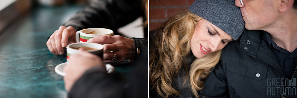 Kensington Market Cafe Toronto Engagement Session 0019