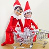 Tonight the elves will be doing a bit of Christmas shopping. #elfontheshelf #ralphelf #ralphandhollyelf #tradition #christmas